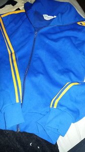 Vintage Adidas Three Stripe Zip up Track Jacket