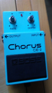Boss Chorus Pedal Green Label