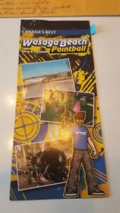 8 DAY PASSES  - WASAGA BEACH PAINTBALL