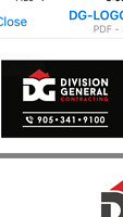 Division general contracting