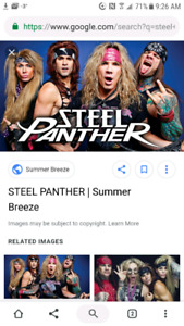 Steel Panther Tickets!