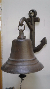 Cast Iron Nautical Bell