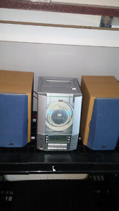 JVC cd cassette am/fm Stereo