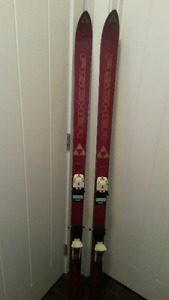 Fischer Sunrise 170 cm Skis with Marker bindings .