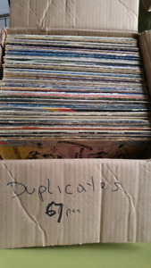 Collection of old LP's vinyl rock and pop 70-80