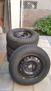 Winter Tires 215/65R16 (+ Rims)