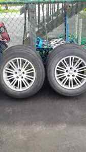 Chrysler 300m tires and rims