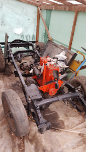 1946 Willys Jeep CJ2A partly restored