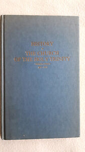 History of the Church of the Holy Trinity Chatham Ont 1875-1975