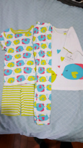 4t carters summer jammies. Brand new