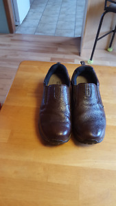 Men's Wind River Leather Pull-On Shoes - Size 12