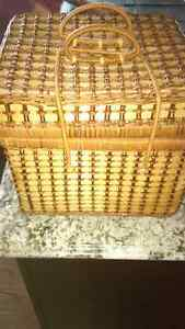 Picnic Basket, Plates, Cups & Cutlery