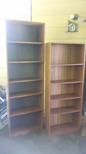 STANDARD TYPICAL BOOKCASE / BOOKSHELF / SHELVING UNITS
