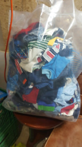Assorted bag of baby boy clothing 0-3months & 3-6months
