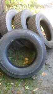 225 70 19.5 TIRES SET OF four