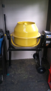Electric concrete mixer for sale