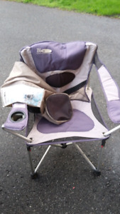 Fold out camping chairs