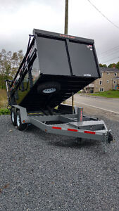 ULTIMATE dump trailer 7x14 ***FINANCING AVAILABLE***
