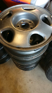 Winter steel rims CRV