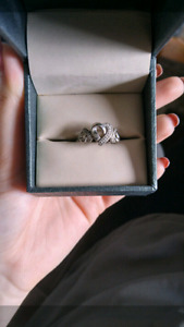 Reduced and repost mapins silver ring