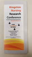 Kingston Nursing Research Conference