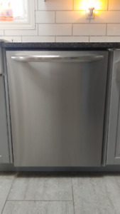 Nearly new Stainless steel Dishwasher