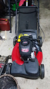 Self propelled lawnmower for sale