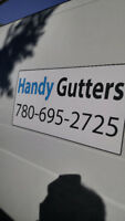 Fall Gutter & down pipes Cleaning - Repairs - Heat Tapes
