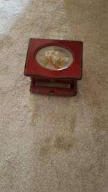 Small Wooden Jewellery Box