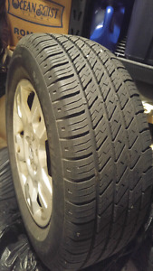 Acura mdx oem wheels with almost new tires