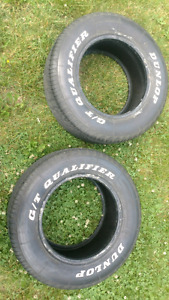 245 60 15 Dunlop GT Qualifier pair nice