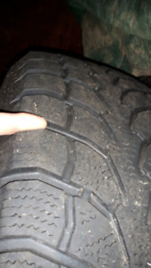 245 70R 17 Winter Claw MX Tires New in condition only 3