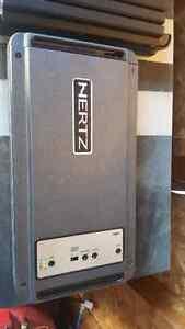 Hertz hdp1 mono amp.