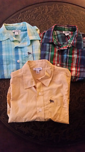 3 LIKE NEW BUTTON UP SHIRTS FROM OLD NAVY $10