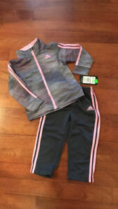 NEW- Adidas Track Suit - 24 months