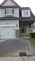 3 bdr 2.5 bath Whitby (Brooklin) for rent $1700 plus utilities