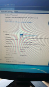 HP laptop...seldom used no marks perfect condition