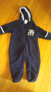 9 month fleece suit
