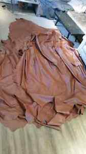 Leather hides (quantity 6 available)