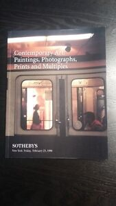 Contemporary Art: Paintings, Photographs, Prints and Multiples