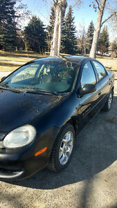 2001 Chrysler Neon Sedan (PRICE NEGOTIABLE)