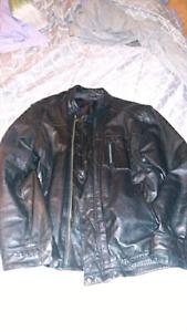 Manteau en cuire
