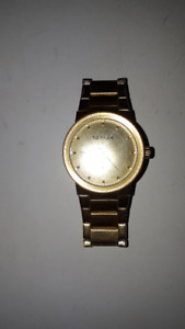 Gold Nixon Watch  (Mint Condition)