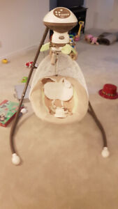 Selling Fisher Price Snugabunny Cradle 'n Swing