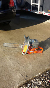 Husqvarna concrete chainsaw