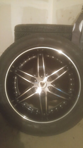 "Venice 22"" rims with tires"