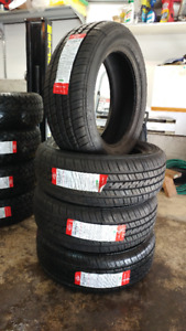 New 225/55R17 all season tires, $440 for 4, tread wear 500
