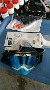 100 percent goggles mint condition with tearoffs Cambridge Kitchener Area image 2