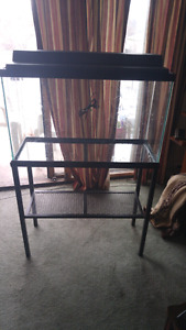 30 gallon fish tank with stand and more!