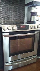 LG dual oven SS range, true convection 1575.00 OBO